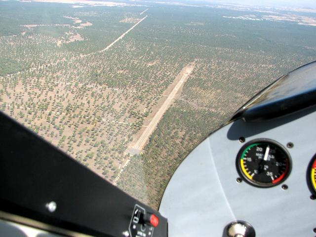 Aeródromo Mojados / Corvejón y Quemados