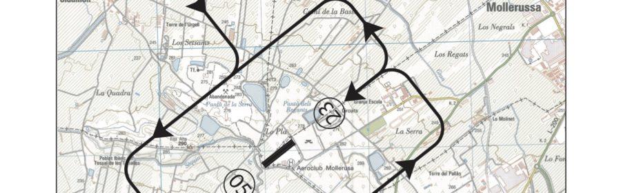 CARTA APROX Aeródromo Mollerusa