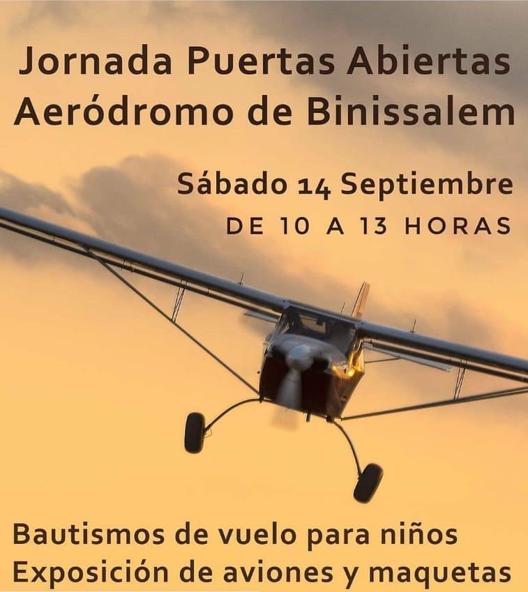 Jornada de puertas abiertas aeródromo de Binissalem