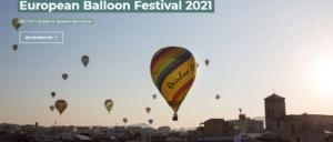 XXV EUROPEAN BALLOON FESTIVAL 2021