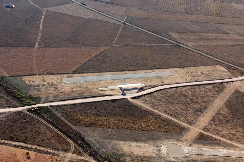 Aeródromo Yecla pista de aeromodelismo